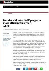 jakposCom_KJP Program More Efficient this Year_Ahok