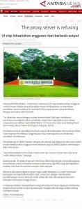 antaranews_ui-siap-laksanakan-anggaran-riset-berbasiskan-output